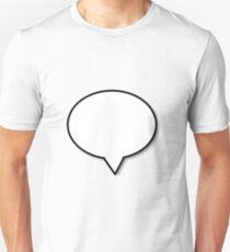 speech buble T-Shirt