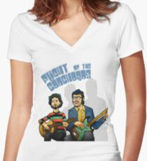 fotc Women's Fitted V-Neck T-Shirt