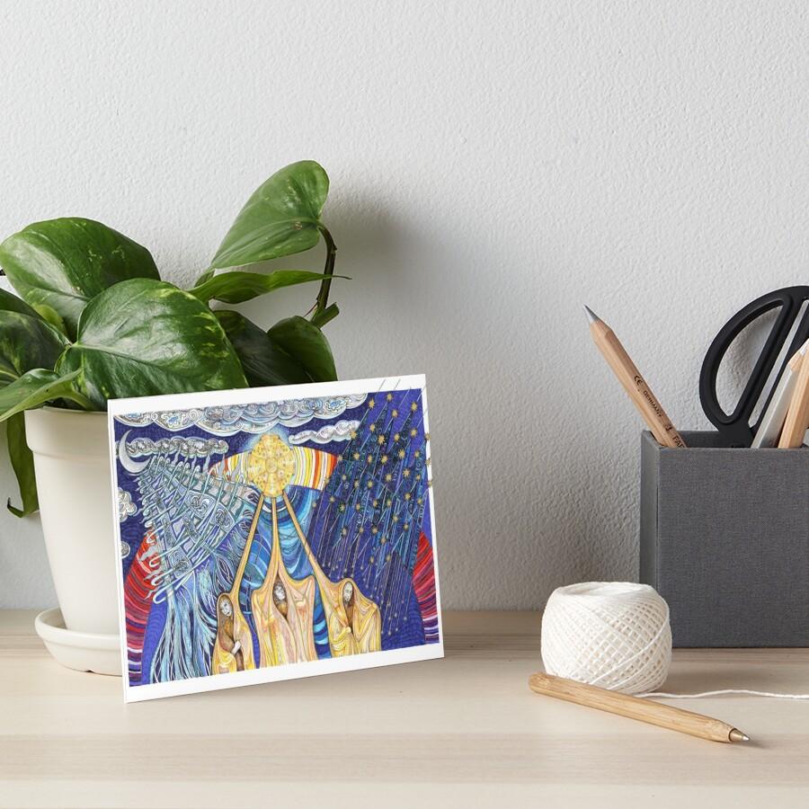 Lumen Gloriae Art Board Print