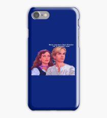 Guybrush and Elaine iPhone Case/Skin