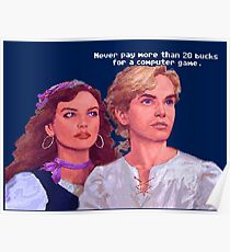 Guybrush and Elaine Poster