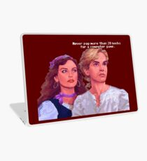Guybrush and Elaine Laptop Skin