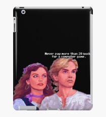 Guybrush and Elaine iPad Case/Skin