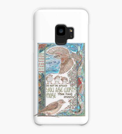 More than Many Sparrows Case/Skin for Samsung Galaxy
