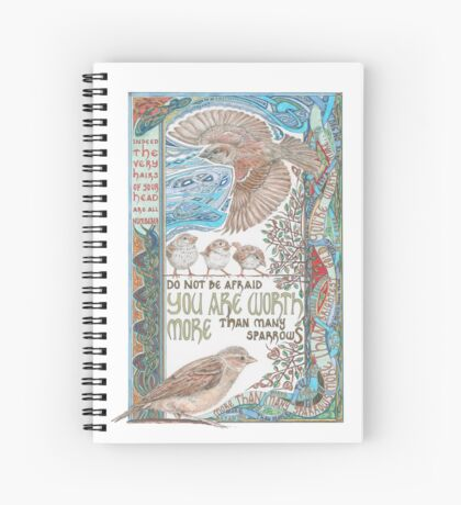 More than Many Sparrows Spiral Notebook