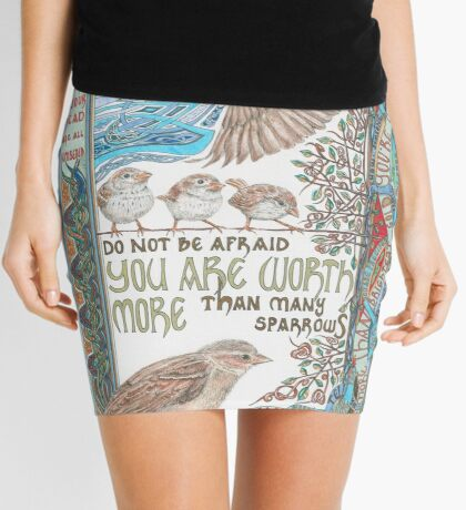 More than Many Sparrows Mini Skirt