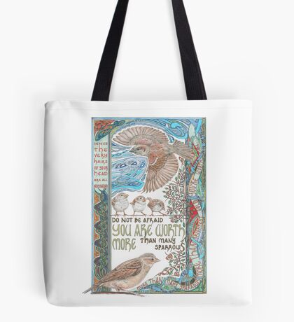 More than Many Sparrows Tote Bag