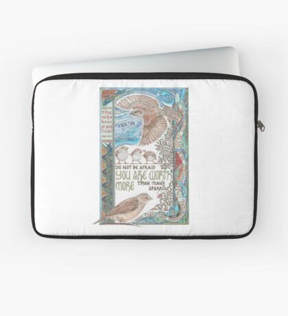 More than Many Sparrows Laptop Sleeve