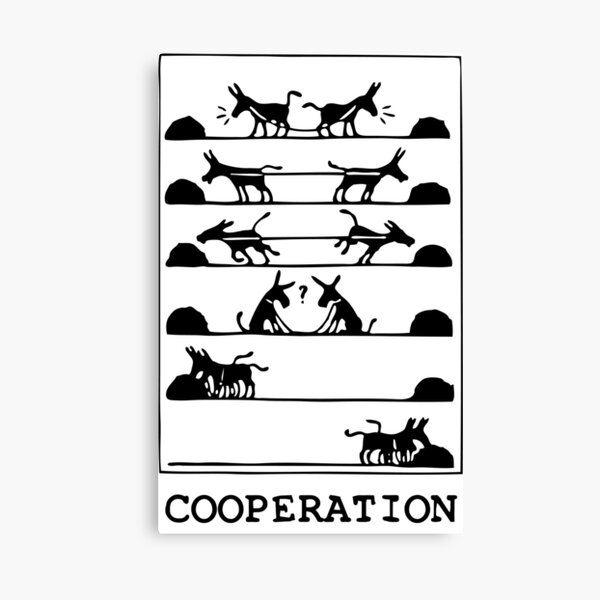What Is Cooperation? Canvas Print