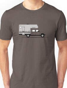 A Graphical Interpretation of the Defender 130 Double Cab Bimobil  Unisex T-Shirt