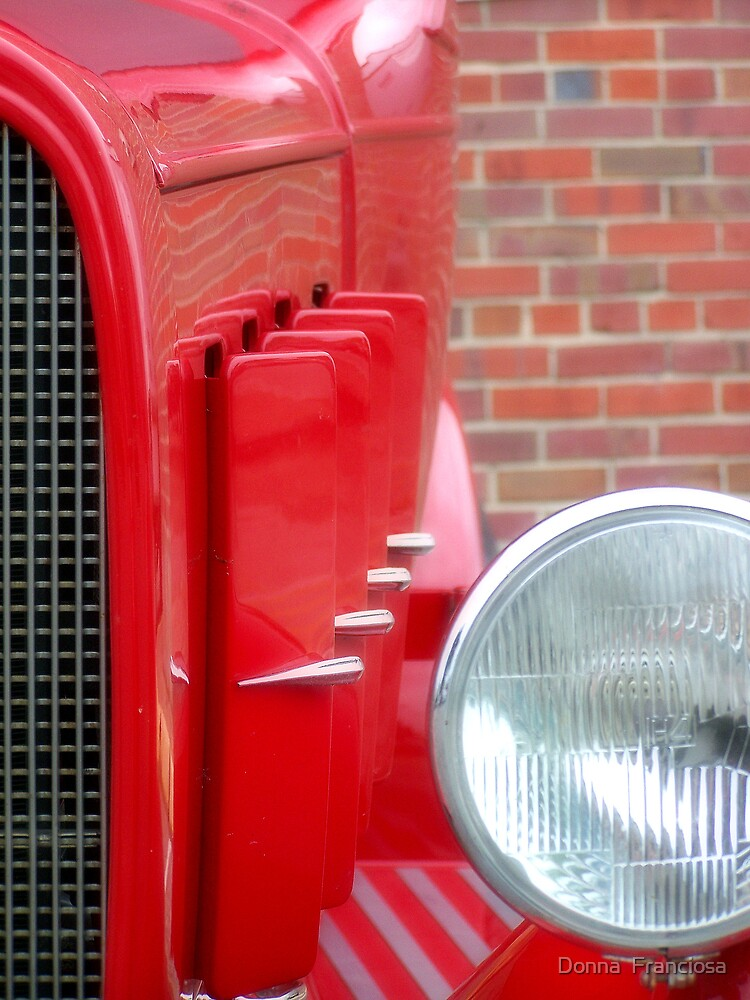 Hot Rod Red by Donna  Franciosa