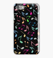Music Colorful Notes IV iPhone Case/Skin