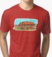 Uluru Tri-blend T-Shirt