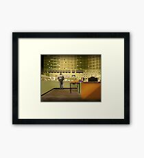 Bruno's Office Framed Print