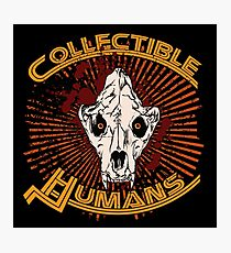 Collectible Humans Photographic Print
