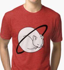 Cat planet Tri-blend T-Shirt