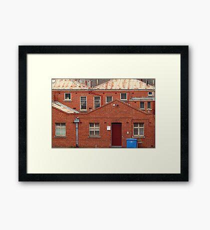 Griffiths Book Store,Geelong Framed Print