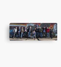 Hullywood Icon -  Phil Edwards; Alix Edwards; Paul Garmston; James Mountford; Joe Gorman; Jack Rimmington; Sam Rimmington; Ian Rimmington; Mel Brownrigg; Murray Wattam; Josh Rogerson and Fred Gall. Canvas Print