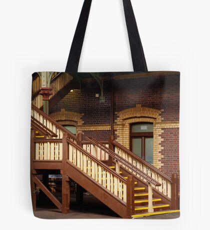 Staircase,Geelong Railway Station Tote Bag