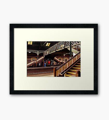 Geelong Railway Station Framed Print