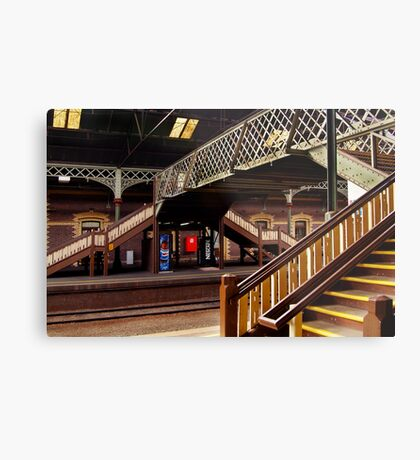 Geelong Railway Station Metal Print