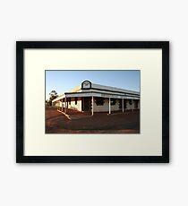 Birdsville Pub Framed Print
