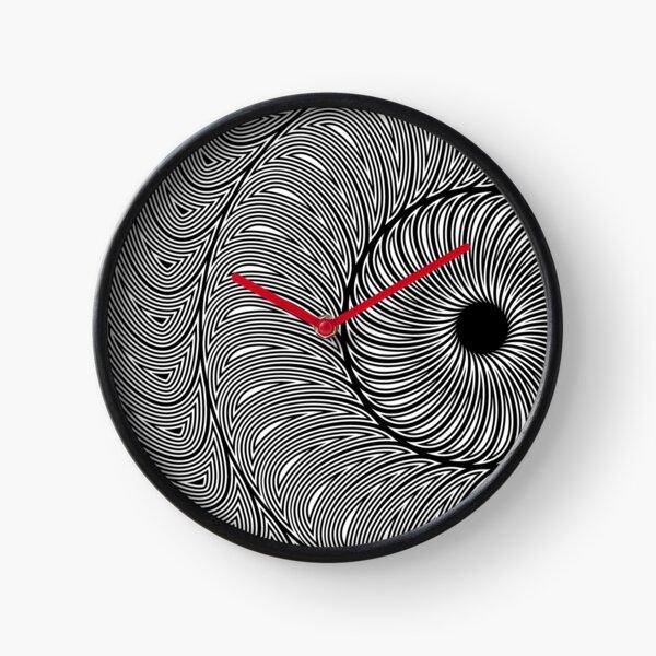 mandala - three o'clock Clock