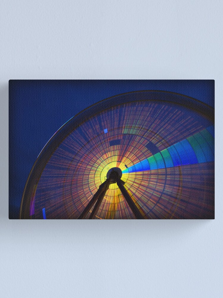 Alternate view of Finding Light Canvas Print