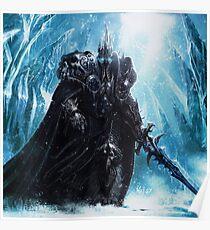Der Lichkönig in Eiskrone Poster