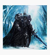 The Lich King in Icecrown Photographic Print