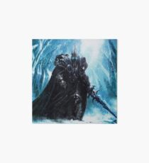 The Lich King in Icecrown Art Board