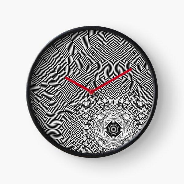 mandala - five o'clock Clock