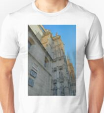 Detail of the cathedral from Sevilla, Spain with side tower T-Shirt