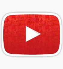 YouTube Play Button: Creators Sticker
