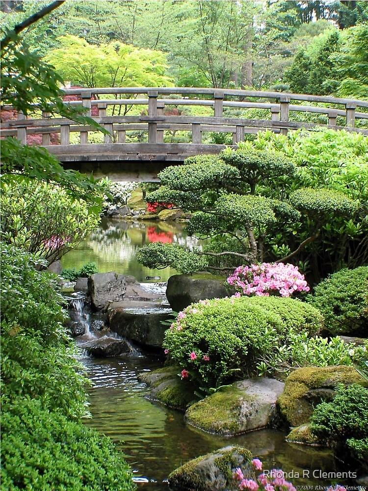 Garden Bridge, Portland Japanese Garden\