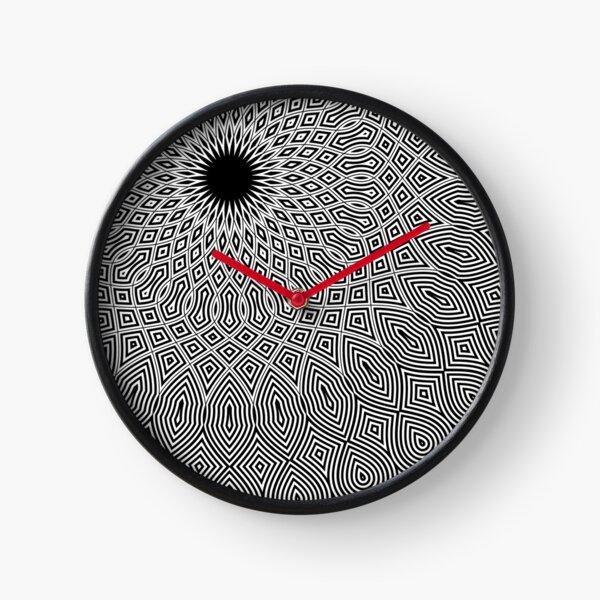 mandala - eleven o'clock Clock