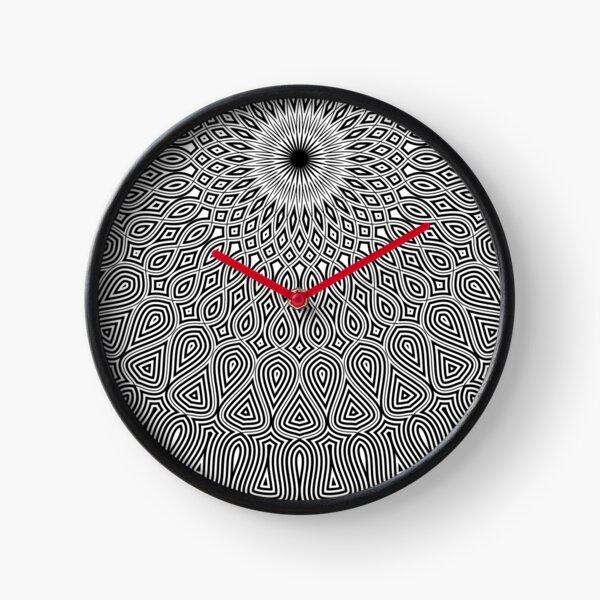 mandala - twelve o'clock Clock