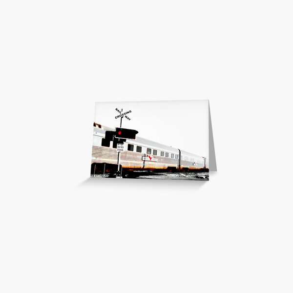Indian Pacific Greeting Card