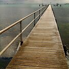 Jetty,Corio Bay Geelong by Joe Mortelliti