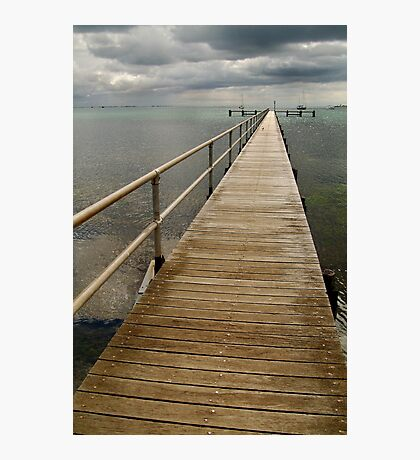 Jetty,Corio Bay Geelong Photographic Print