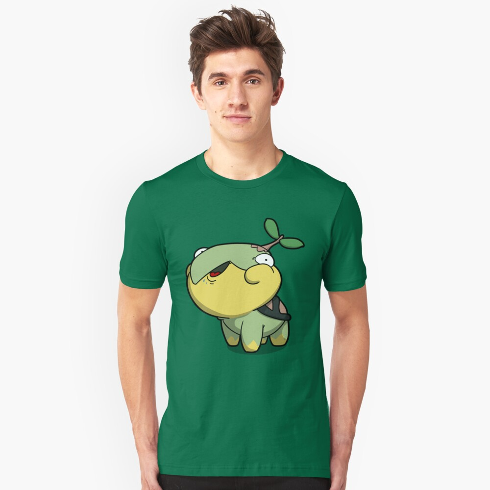 Chubby Tree Turtle Unisex T-Shirt Front