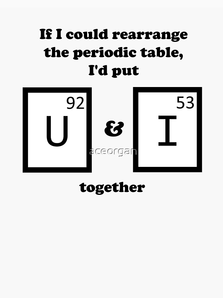 If I Could Rearrange The Periodic Table Classic T Shirt By