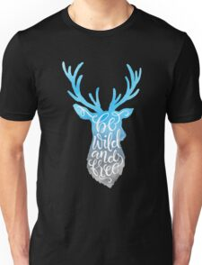 Be Wild and Free - the Caribou Unisex T-Shirt