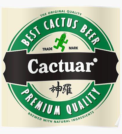 Premium Quality: Cactuar's beer Poster