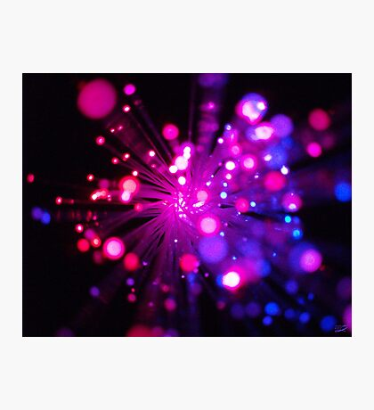 Birthday Sparkles Photographic Print