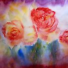 Three Roses by Deborah Pass