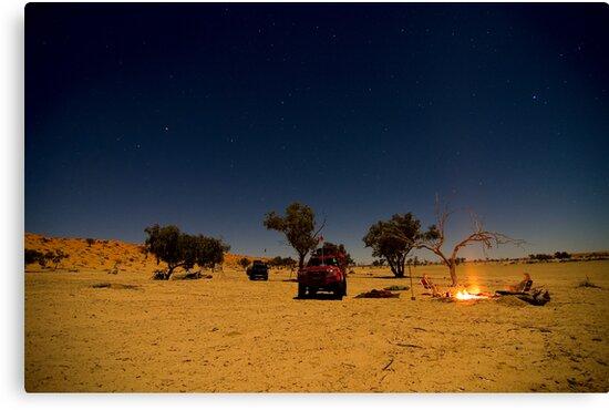 Desert Night by BigRed