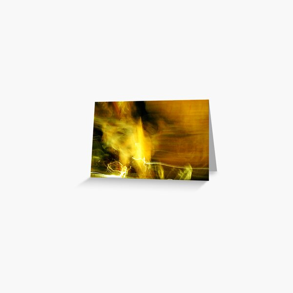 More Abstract Greeting Card