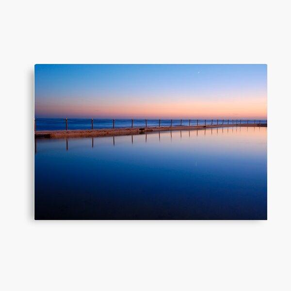 Morning Pool Canvas Print