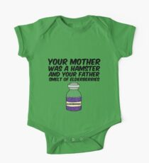 Your Mother Was a Hamster One Piece - Short Sleeve